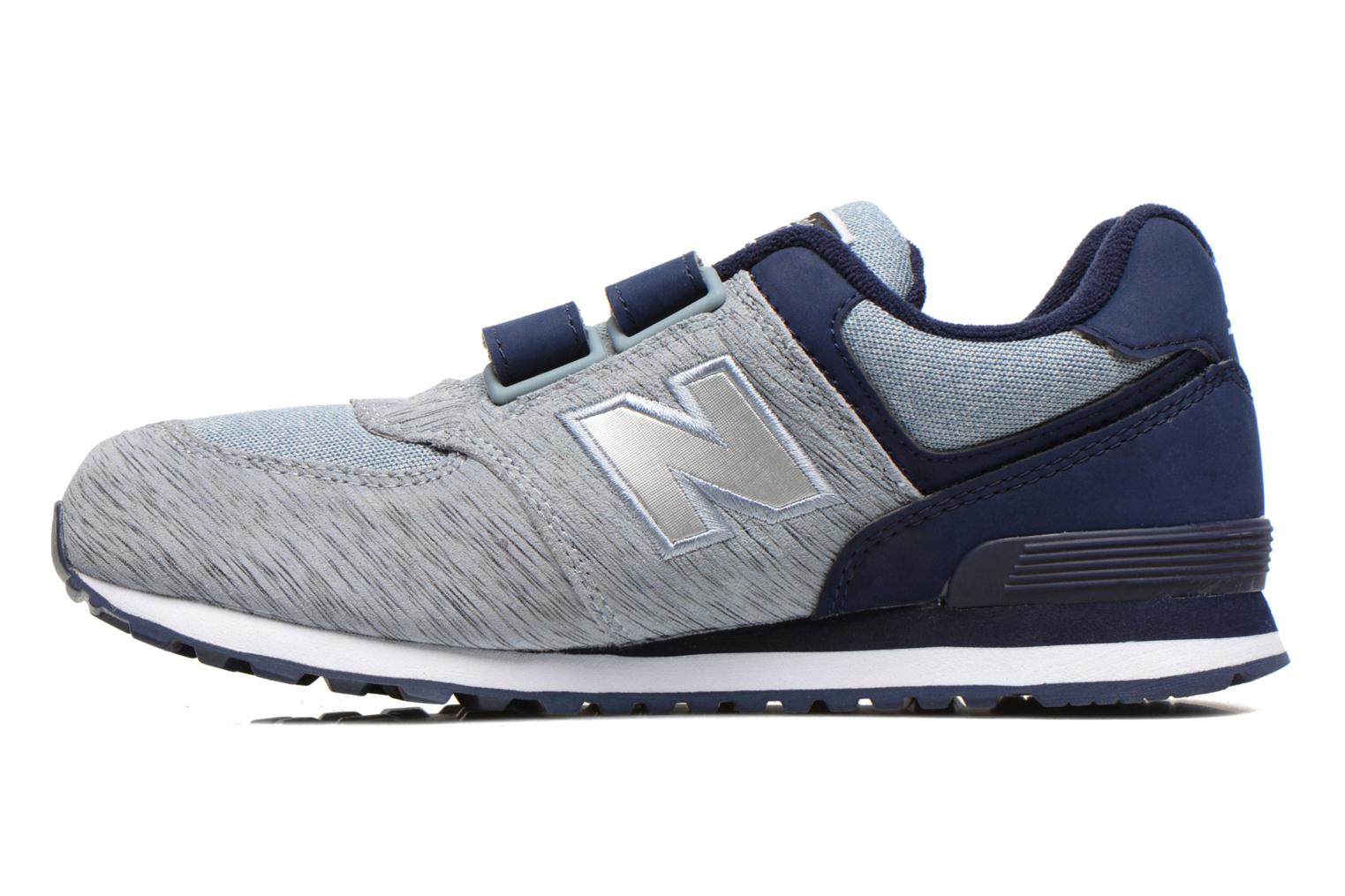 Baskets New Balance Kv574NEI Gris vue face
